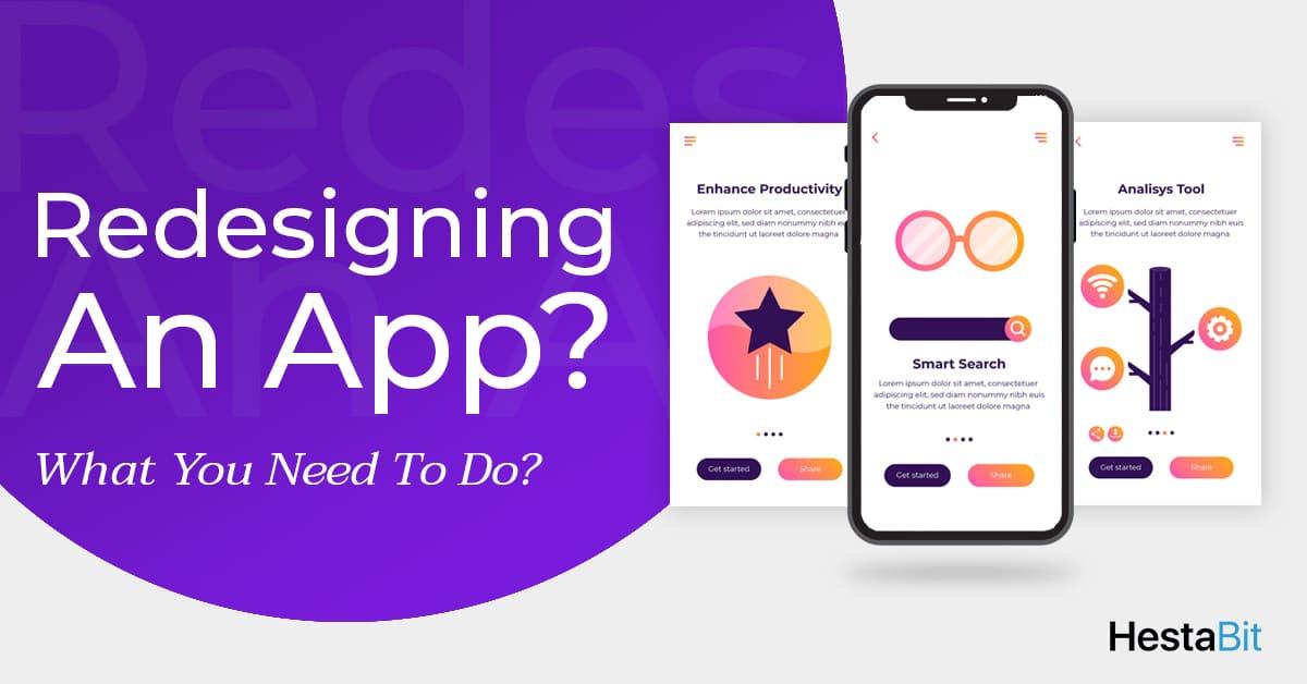 App Redesigning | HestaBit Blog