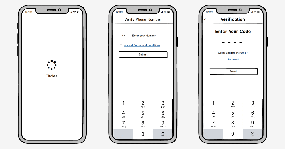 Static Prototype From Wireframes